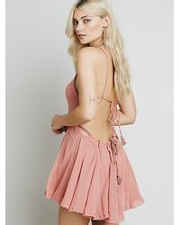 Free People - Pink Live For Your Smile Dress - Lyst