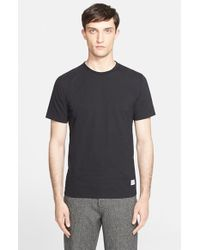 Norse Projects - Black 'Niels' Cotton T-Shirt for Men - Lyst