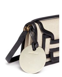 Pierre Hardy | Multicolor 'alpha' Mini Leather Trim Canvas Shoulder Bag | Lyst