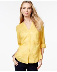 Style & Co. | Yellow Only At Macy's | Lyst