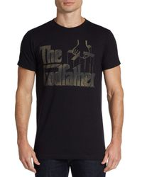 Junk Food - Black The Godfather Cotton Tee for Men - Lyst