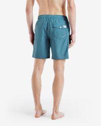 Ted Baker - Green Printed Swim Shorts for Men - Lyst