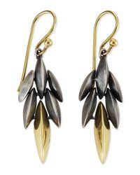 Alexis Bittar Fine - Black Mini Cascade Drop Earrings - Lyst