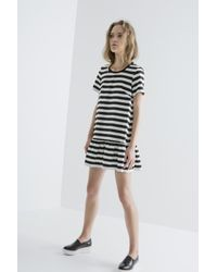 The Fifth Label - Black Above The Clouds T-shirt Dress - Lyst