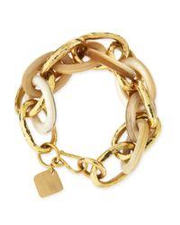 Ashley Pittman - Metallic Ndovu Light Horn & Bronze Bracelet - Lyst