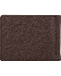 Tod's - Brown Money Clip Billfold for Men - Lyst