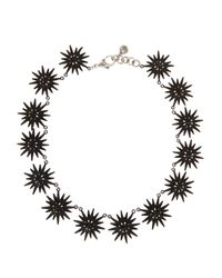 Lulu Frost | Black Radiant Necklace | Lyst