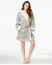 Tommy Hilfiger | Gray Terry French Robe | Lyst