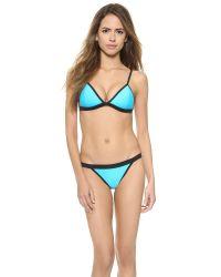 Suboo - Blue Bikini Bottoms - Blue - Lyst