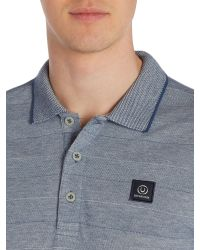 Duck and Cover | Blue Mason Short Sleeve Pique Polo for Men | Lyst