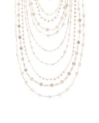 BCBGMAXAZRIA - Metallic Multi-layered Novelty Chain Necklace - Lyst