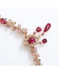 Wendy Yue - Pink Butterfly Necklace - Lyst