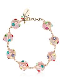 Sveva Collection - Pink Meteora Mobile Necklace - Lyst