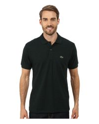 Lacoste - Blue Short Sleeve Classic Fit Chine Pique Polo Shirt for Men - Lyst
