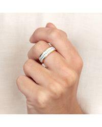 Astley Clarke - Metallic Moonlight Beaded Ring - Lyst