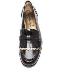 Lanvin - Black Leather Loafers - Lyst