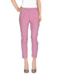 Pinko - Purple Casual Trouser - Lyst