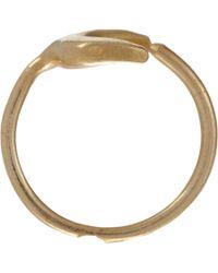 Suzannah Wainhouse Jewelry - Metallic Crescent Moon Wraparound Ring - Lyst