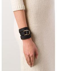 Hoorsenbuhs   Black Wrap Bracelet   Lyst
