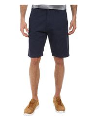Volcom - Blue Faceted Short for Men - Lyst