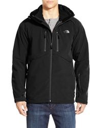 The North Face | Black 'storm Peak - Triclimate' Windproof & Water Resistant Hooded 3-in-1 Jacket for Men | Lyst