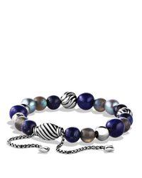 David Yurman | Black Spiritual Beads Bracelet | Lyst