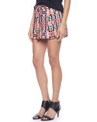 Ella Moss | Pink Veracruz Smocked Short | Lyst