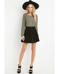 Forever 21 | Green Cutout-back Blouse You've Been Added To The Waitlist | Lyst