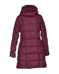 Add - Purple Down Jacket - Lyst