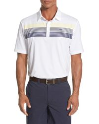 Travis Mathew - White 'captain' Stretch Jersey Golf Polo for Men - Lyst