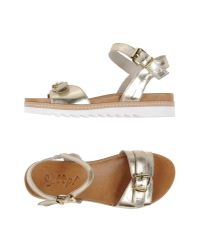 Scoop - White Sandals - Lyst