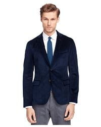Brooks Brothers | Blue Corduroy Sport Coat for Men | Lyst