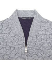 Onassis Clothing | Gray Fragment Quilted Bomber for Men | Lyst