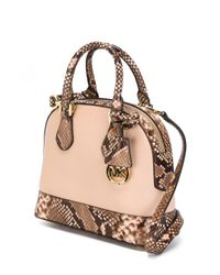MICHAEL Michael Kors - Pink Small 'smythe' Tote - Lyst