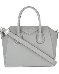 Givenchy | Gray Antigona Small Soft-grained Leather Tote - For Women | Lyst