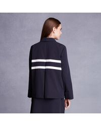 Trademark | Blue Double Stripe Jacket | Lyst