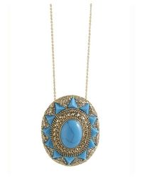 House of Harlow 1960 | Blue Wari Ruins Pendant Necklace | Lyst