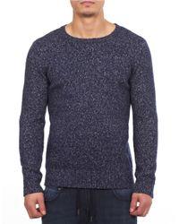 William Rast | Blue Crewneck Sweater for Men | Lyst