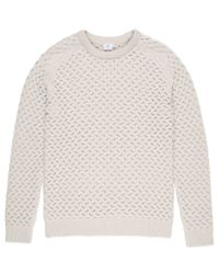 Sunspel | Gray Men's Textured Merino Jumper for Men | Lyst