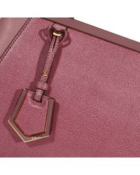 Fendi - Pink Handbag 2 Jours Small Leather - Lyst