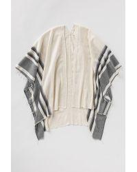 lemlem - Gray Aranya Blanket Poncho - Lyst