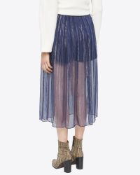 Billy Reid | Blue Gatsby Skirt | Lyst