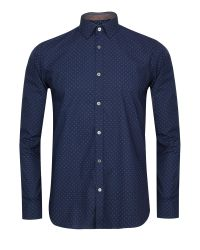Ted Baker | Blue Coolkid Printed Shirt for Men | Lyst