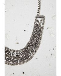 Forever 21 | Metallic Circle Charm Collar Necklace | Lyst