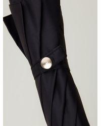 Alexander McQueen - Black Skull Handle Umbrella - Lyst