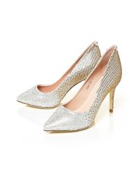 Moda In Pelle | Metallic Karlita Medium Occasion Shoes | Lyst