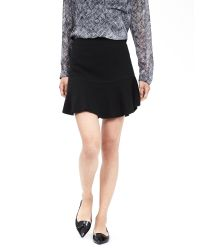 Banana Republic | Black Flutter Skirt | Lyst