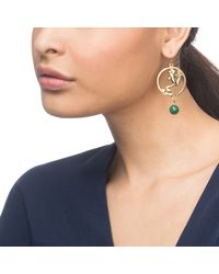 Lulu Frost | Metallic Pond Earring | Lyst