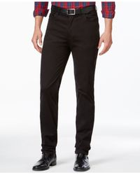 Vince Camuto | Black Chino Pants for Men | Lyst