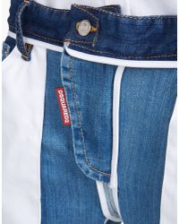 DSquared² | Blue Inside Out Icon Jeans | Lyst